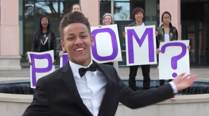 My Celebrity Prom Date - YouTube