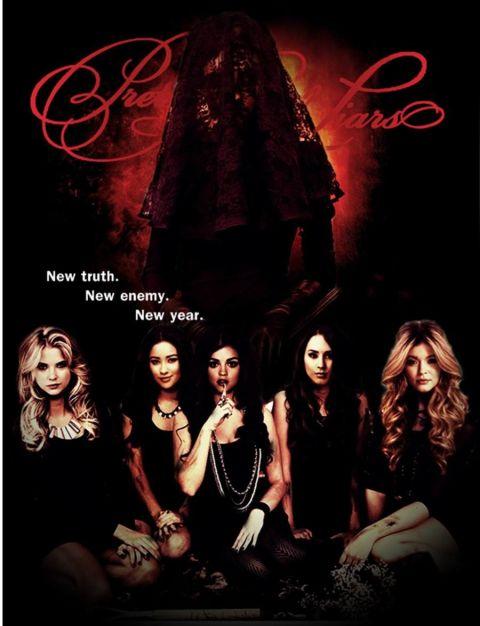 Pretty Little Liars Poster Season 4
