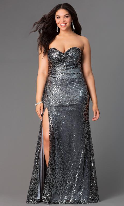 15 Best Plus-Size Prom Dresses - 2015 Plus Size Prom Dresses