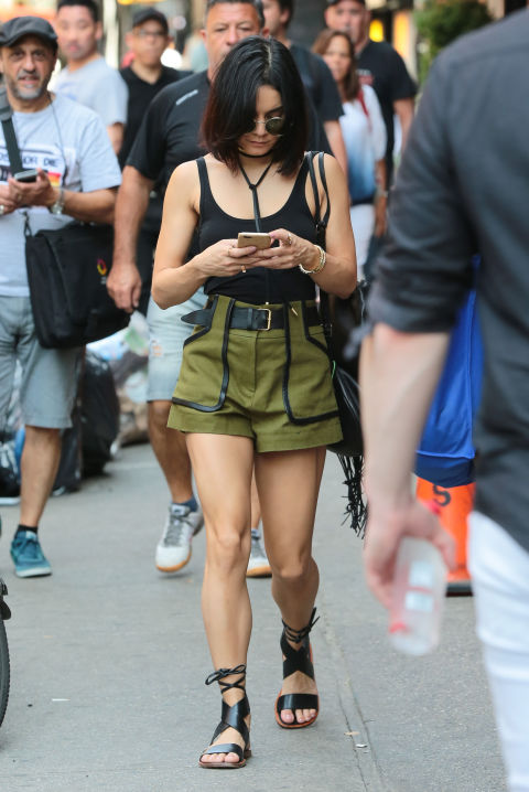 Image result for vanessa hudgens High Waisted Shorts & Tank