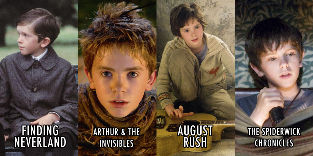 Remember freddie highmore from charlie the chocolate for Freddie highmore movies and tv shows