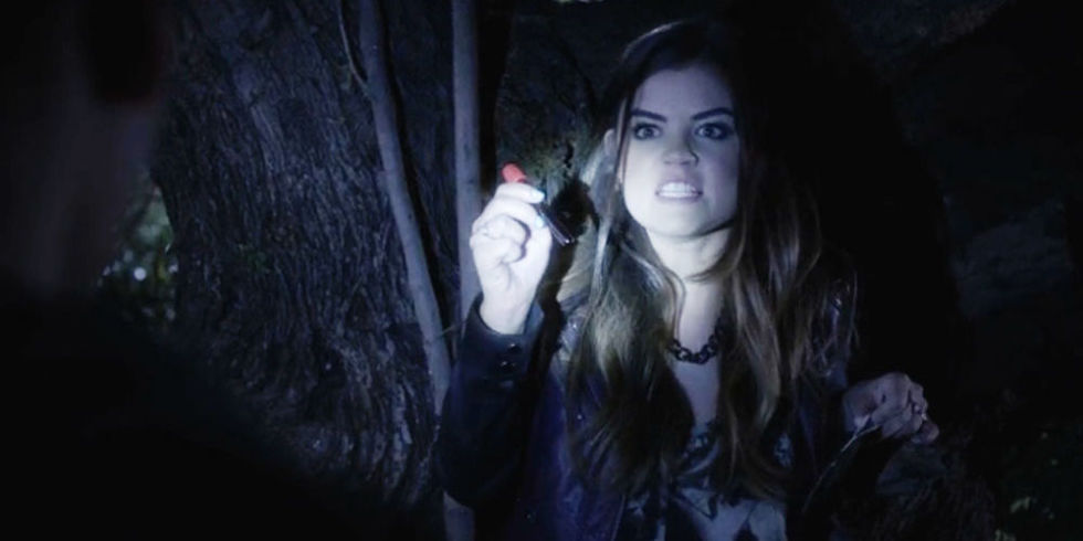 "10 Times Aria Montgomery Scared the Crap out of You on ""Pretty Little ..."