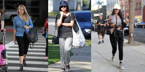 11 celebrities wearing sweatpants celebs in sweats