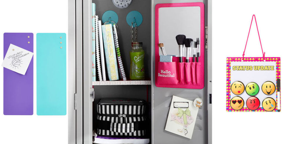 15 photos - How To Decorate Your Locker