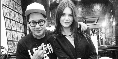 Cool Heres The Real Reason Why Kendall Jenner Got That Really Tiny Tattoo Largest Home Design Picture Inspirations Pitcheantrous