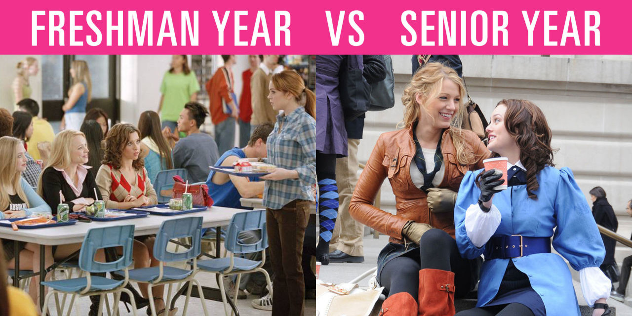 Freshman dating senior college