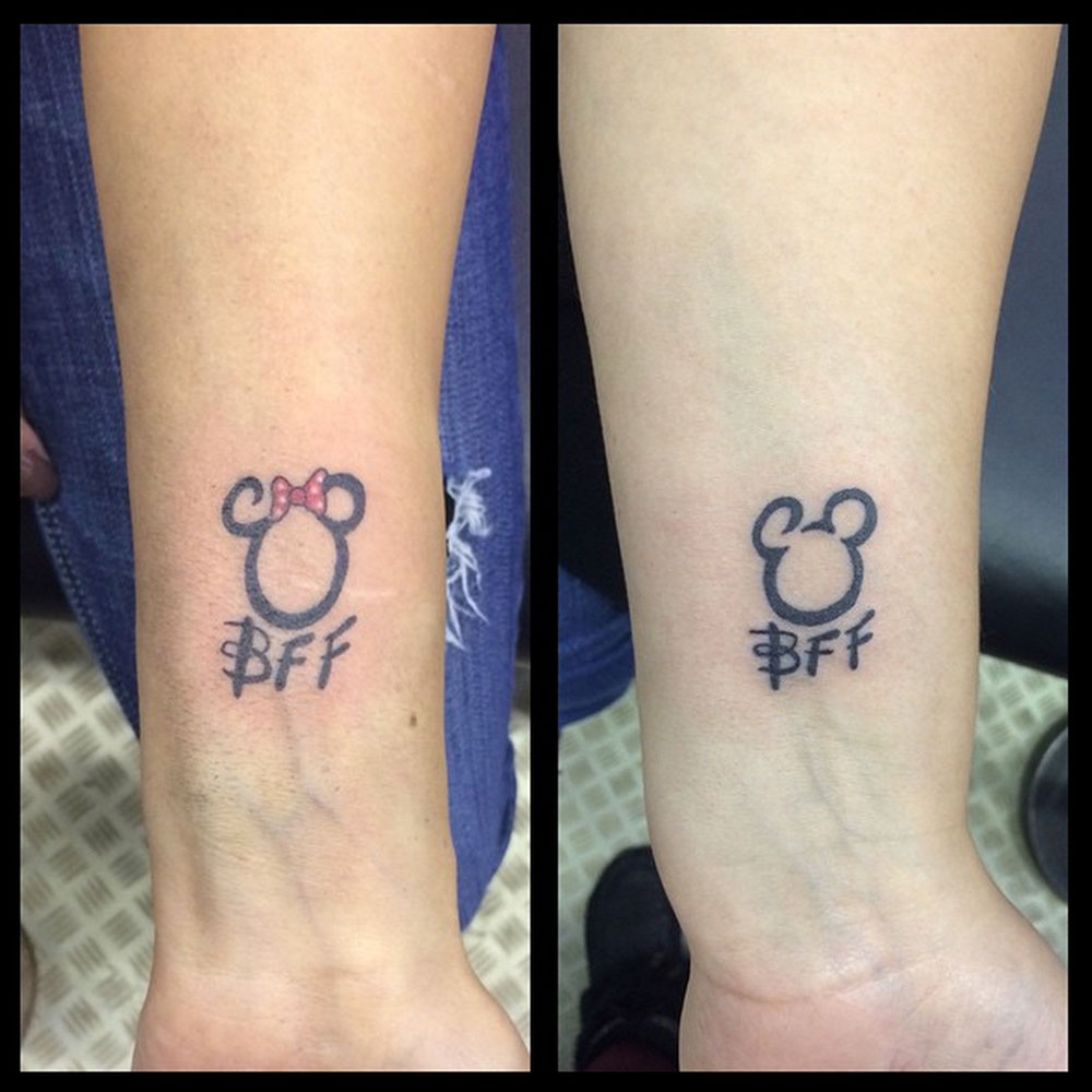 Best Friend Tattoos For Women: 21 Adorable BFF Tattoos