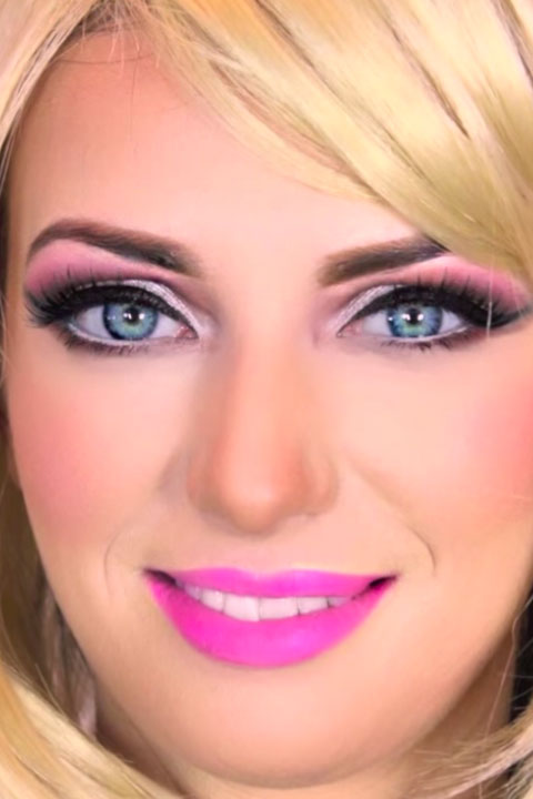 Barbie makeup tutorial