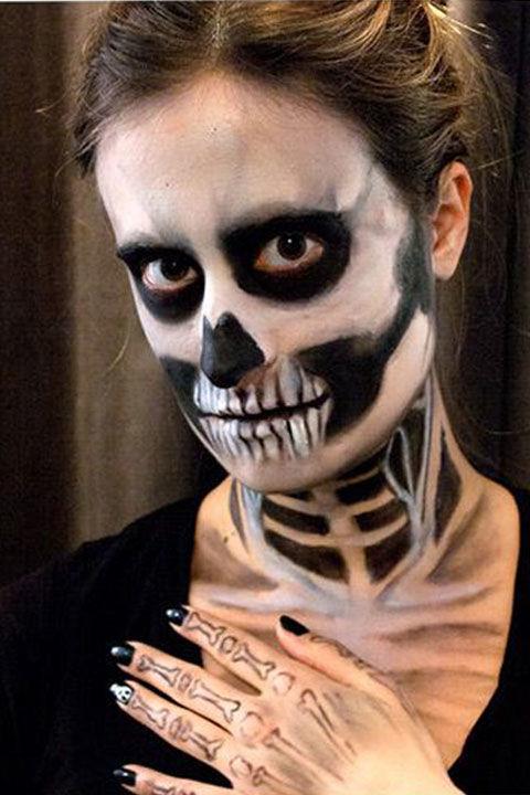 Skull Hand Makeup images