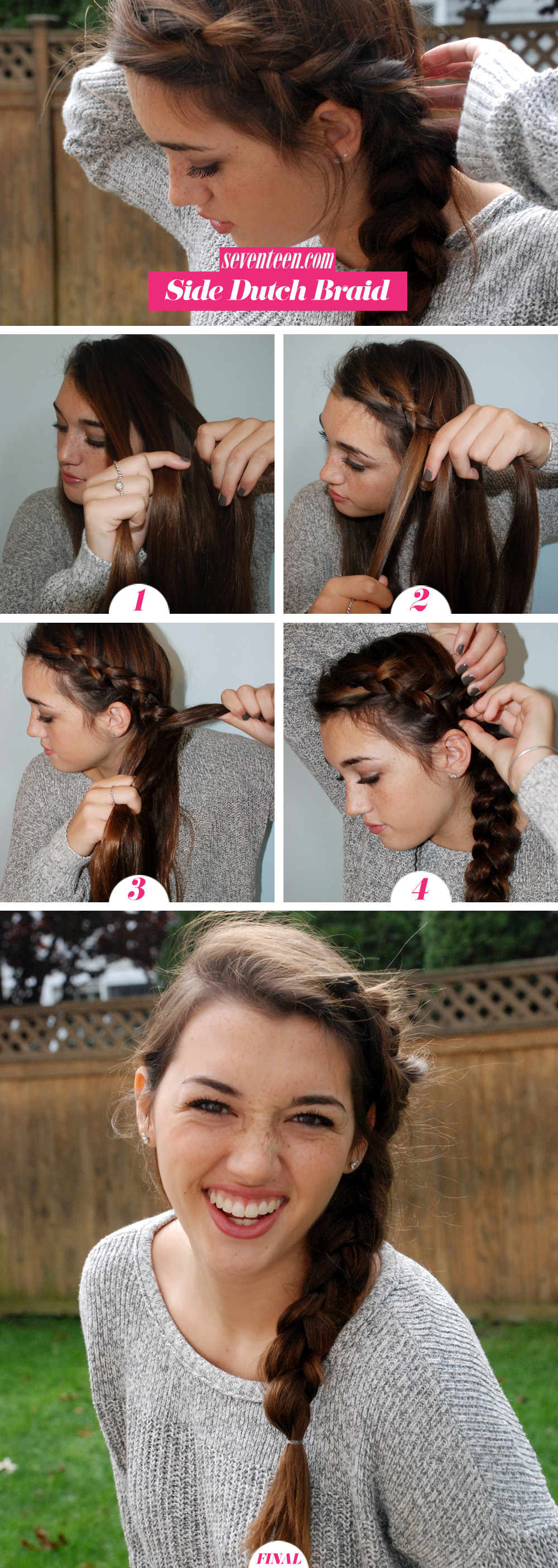 Easy Steps For French Braid With This Cool Reverse Style