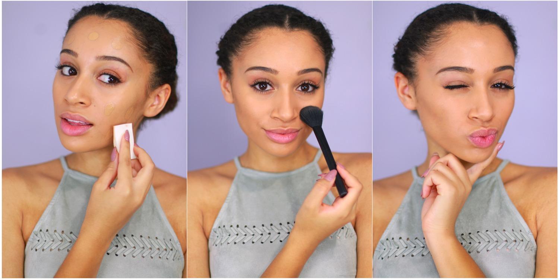 Как правильно нанести макияж в домашних условиях фото 40