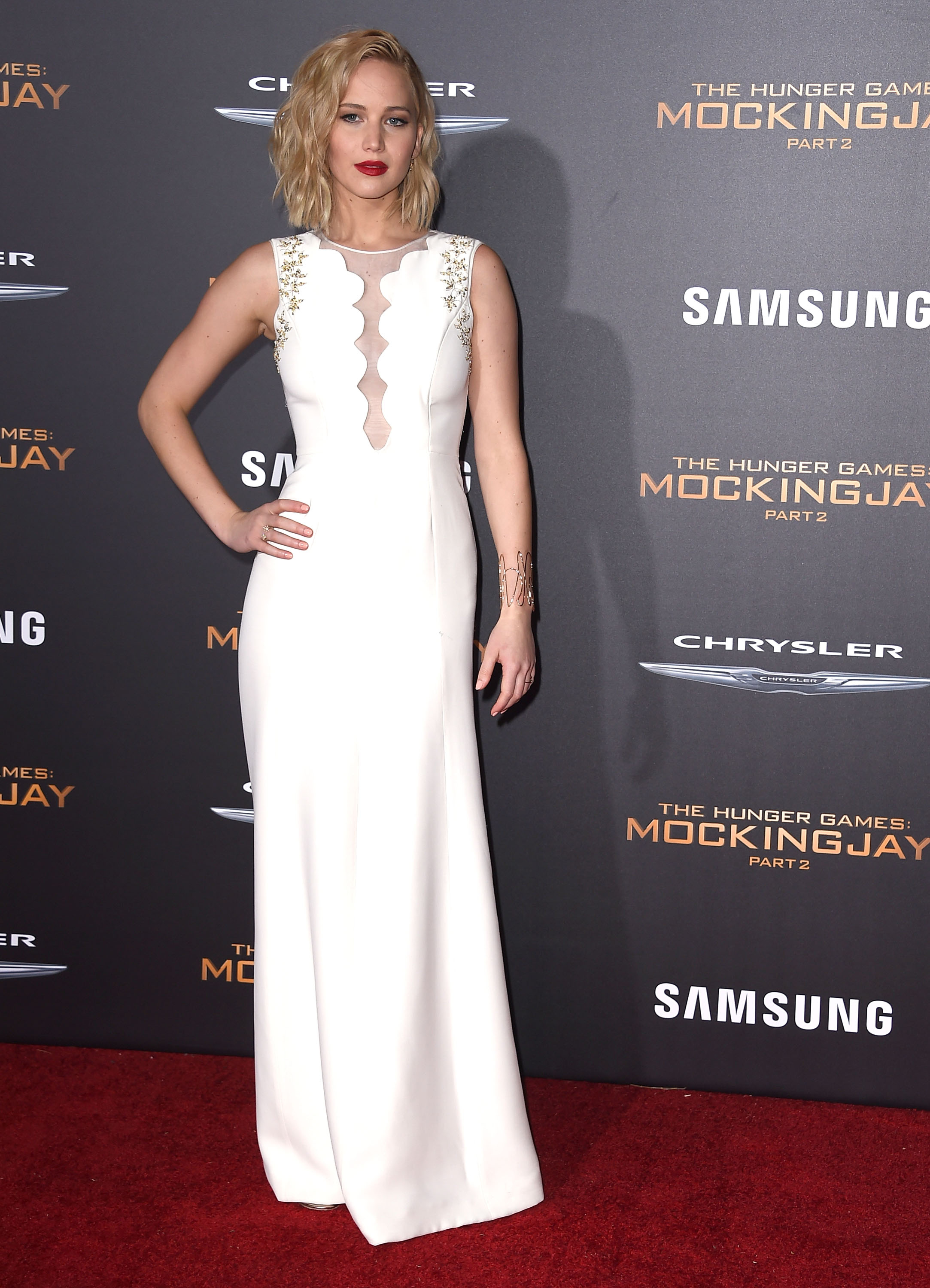 10 Times Jennifer Lawrence Looked Flawless On Quot The Hunger