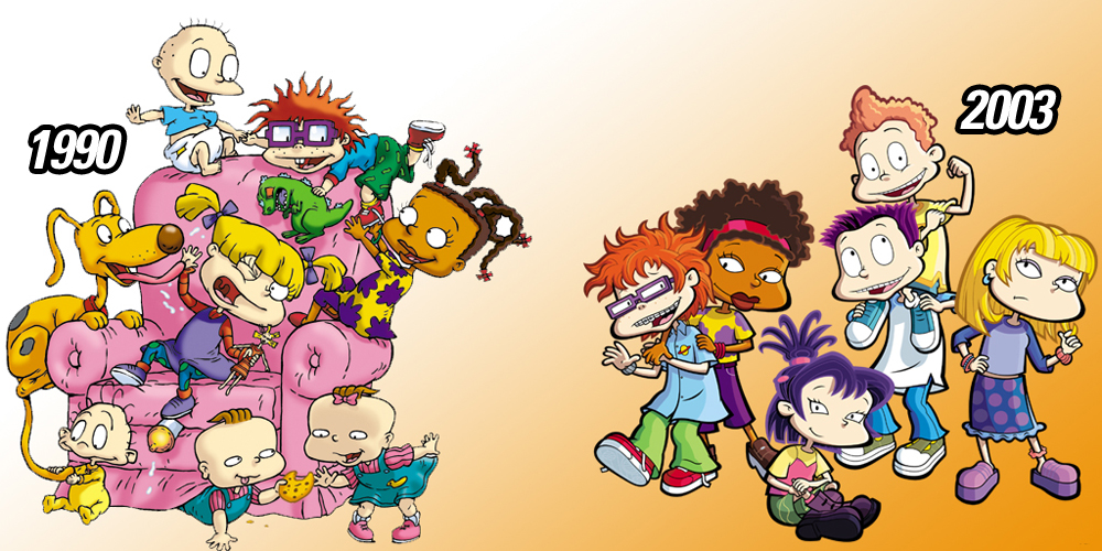 Rugrats Artist Reveals What Tommy And The Gang REALLY Look Like All
