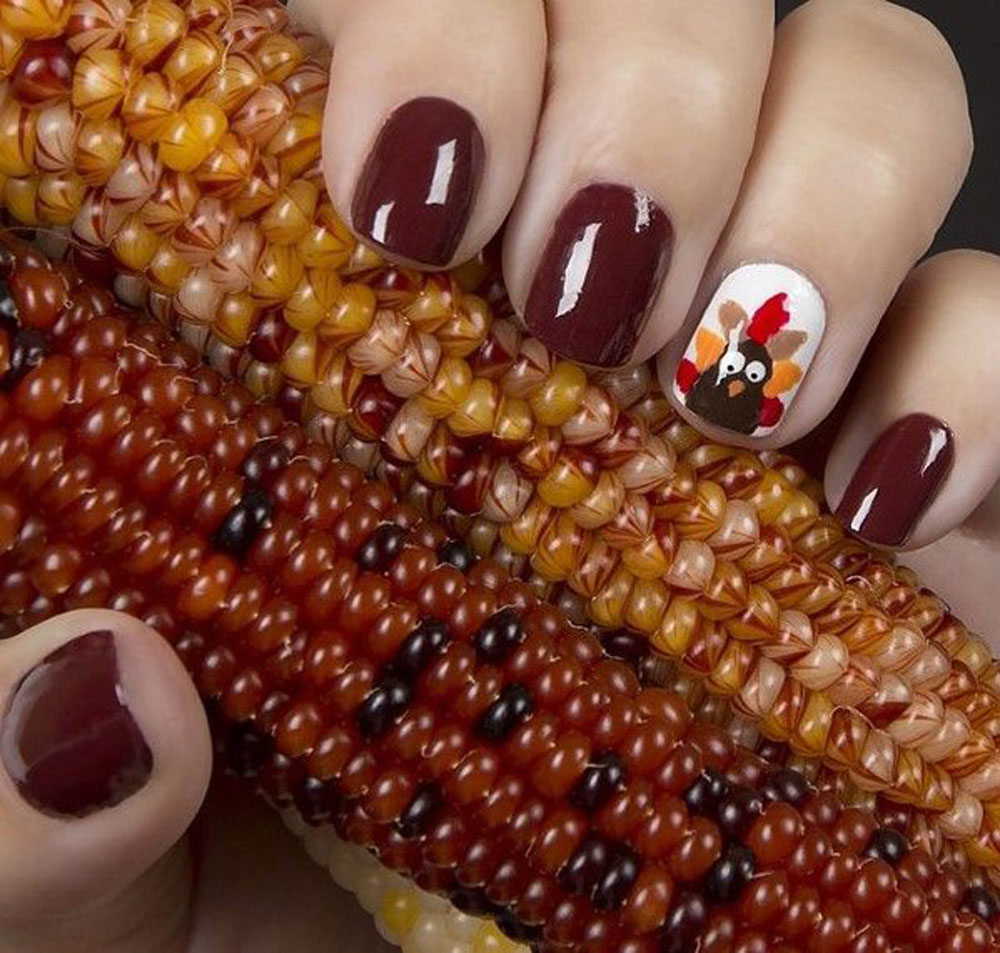 Thanksgiving Nail Art Is The Funniest And Most Amazing New