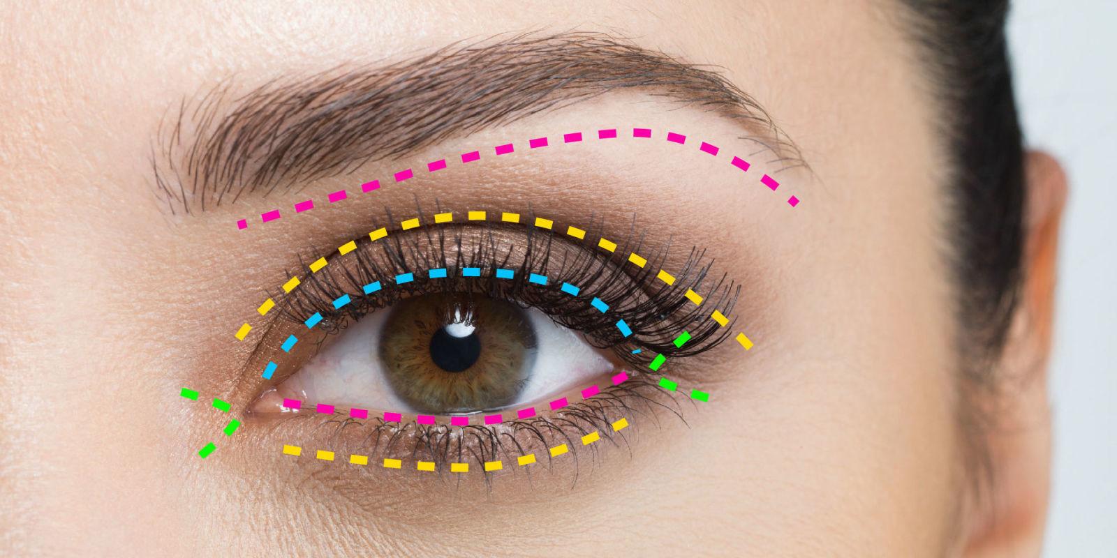 Мастер класс по нанесению макияжа на глаза