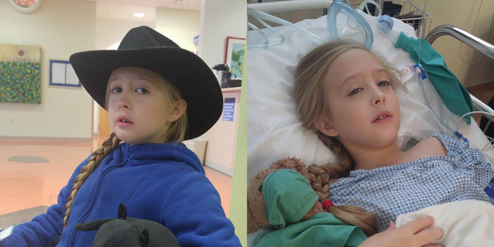Chrissy Turner Eight Year Old Girl Diagnosed With