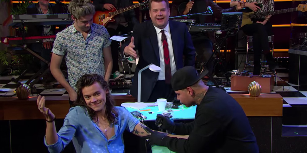 One direction tattoo roulette sub ita