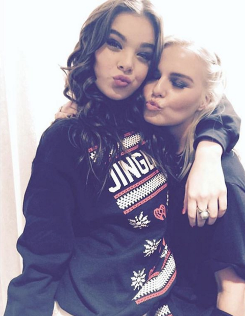 It's official: the only way to make Hailee even cuter is to put her in a Christmas sweater.