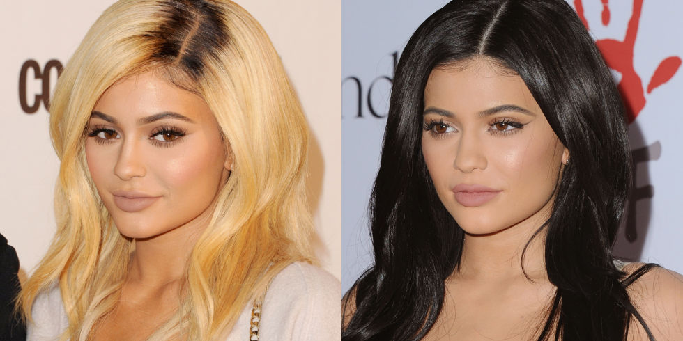 Astonishing 18 Celebs Who Look Equally Flawless With Blonde And Brunette Hair Hairstyles For Men Maxibearus