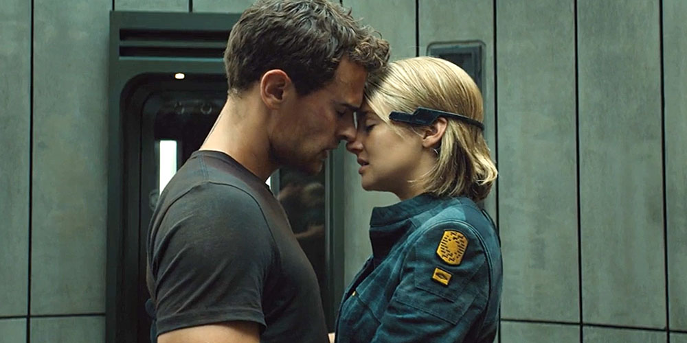 "Tris and Four Get Steamier Than EVER in New ""Allegiant ..."