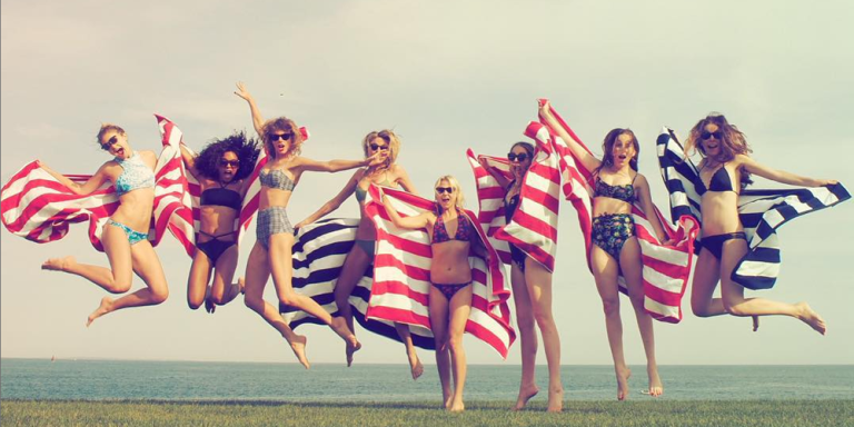 Here's the Mysterious Person Who Takes Taylor Swift's Squad Pictures