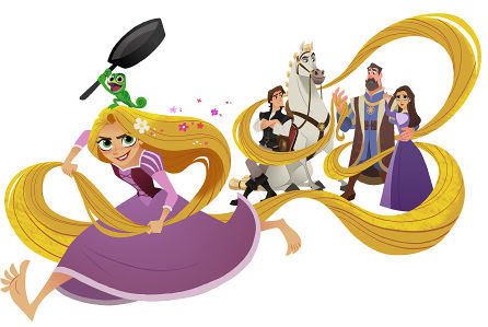 You Will NOT Recognize Rapunzel in the First Pics from the ... Disney Princess 2017 Logo