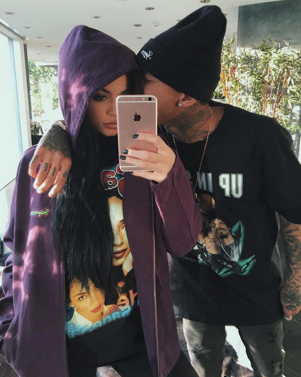 Tyga Posts Picture of Kylie Jenner on Instagram - Tyga ...
