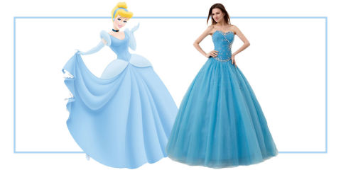 6 princess dresses for prom disney princess prom dresses - Muebles de princesas disney ...
