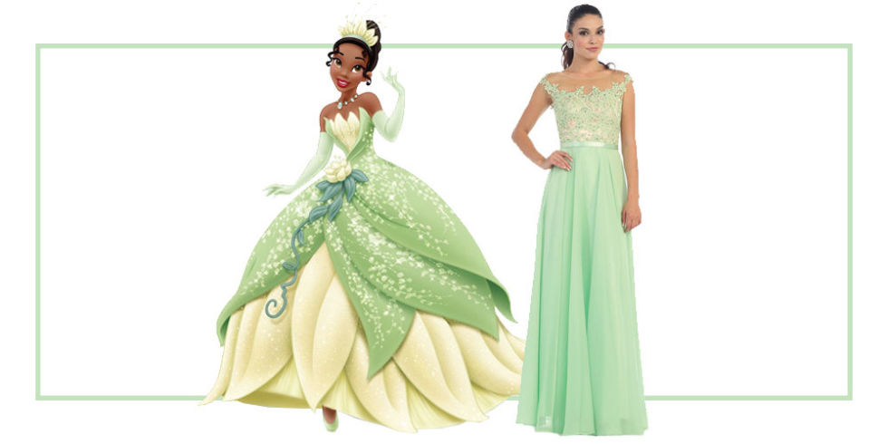 Pretty princess prom dresses