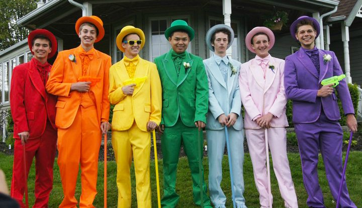 9 Crazy Suits Guys ~Actually~ Rocked to Prom