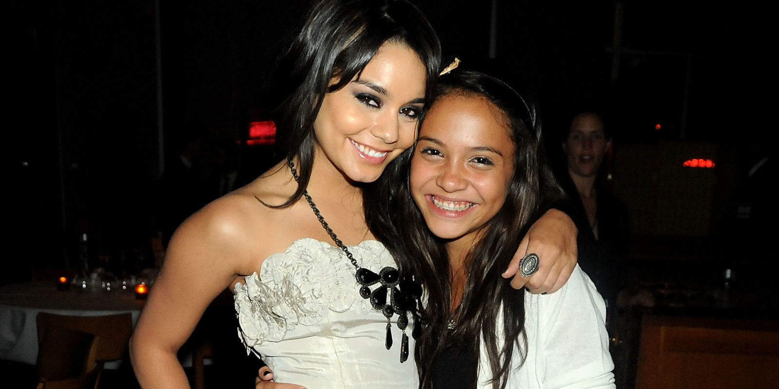 You Won 39 T Be Able To Tell Vanessa Hudgens Her Little Sis