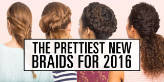 Brilliant Four Strand Slide Up Braid Tutorial Four Strand Braid How To Short Hairstyles Gunalazisus