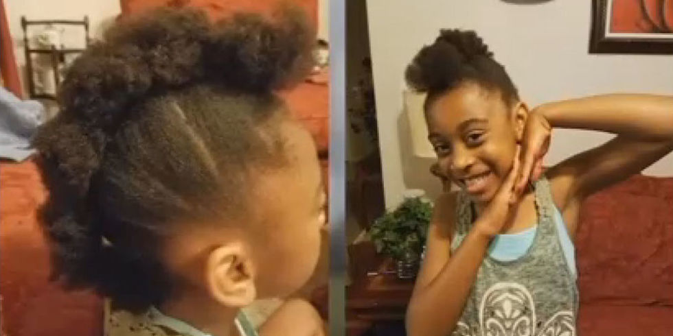 Pleasing Texas School Under Fire After Pulling 9 Year Old Girl Out Of Class Short Hairstyles For Black Women Fulllsitofus