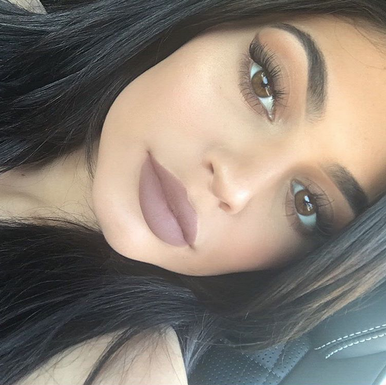 Kylie Jenner Teases Expanding Cosmetics Line With Adorable Picture