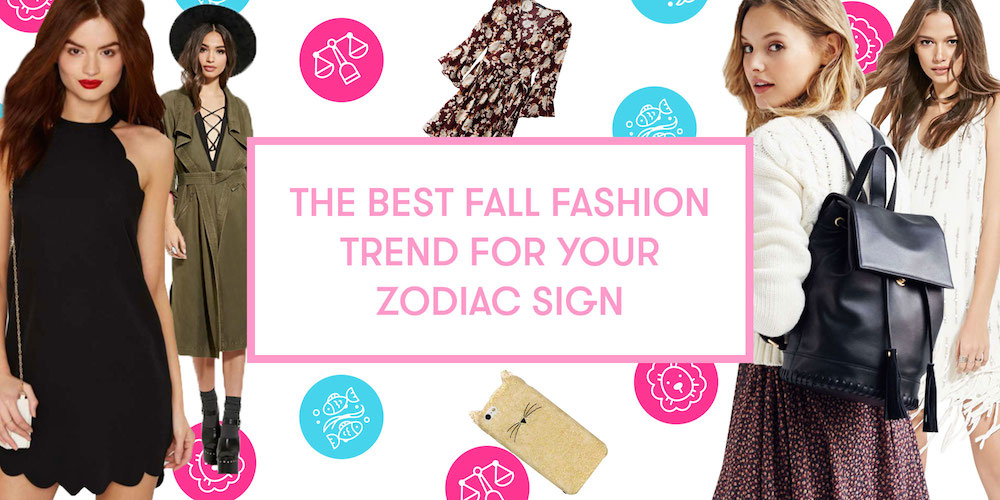 The Best Fall Fashion Trend For Your Zodiac Sign