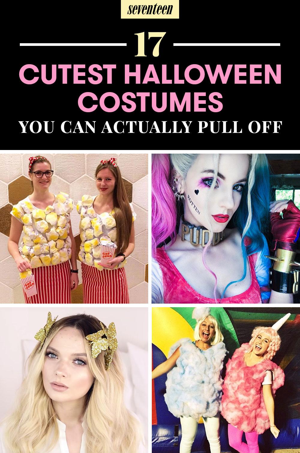 Easy Homemade Halloween Costumes For Girls 20 Best Hallowe...