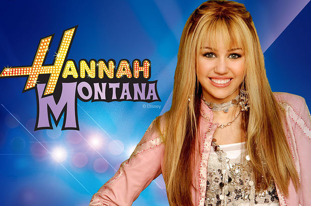 Mile Cyrus in Hannah Montana