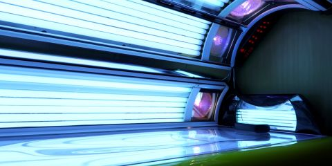 Tanning Bed Warts