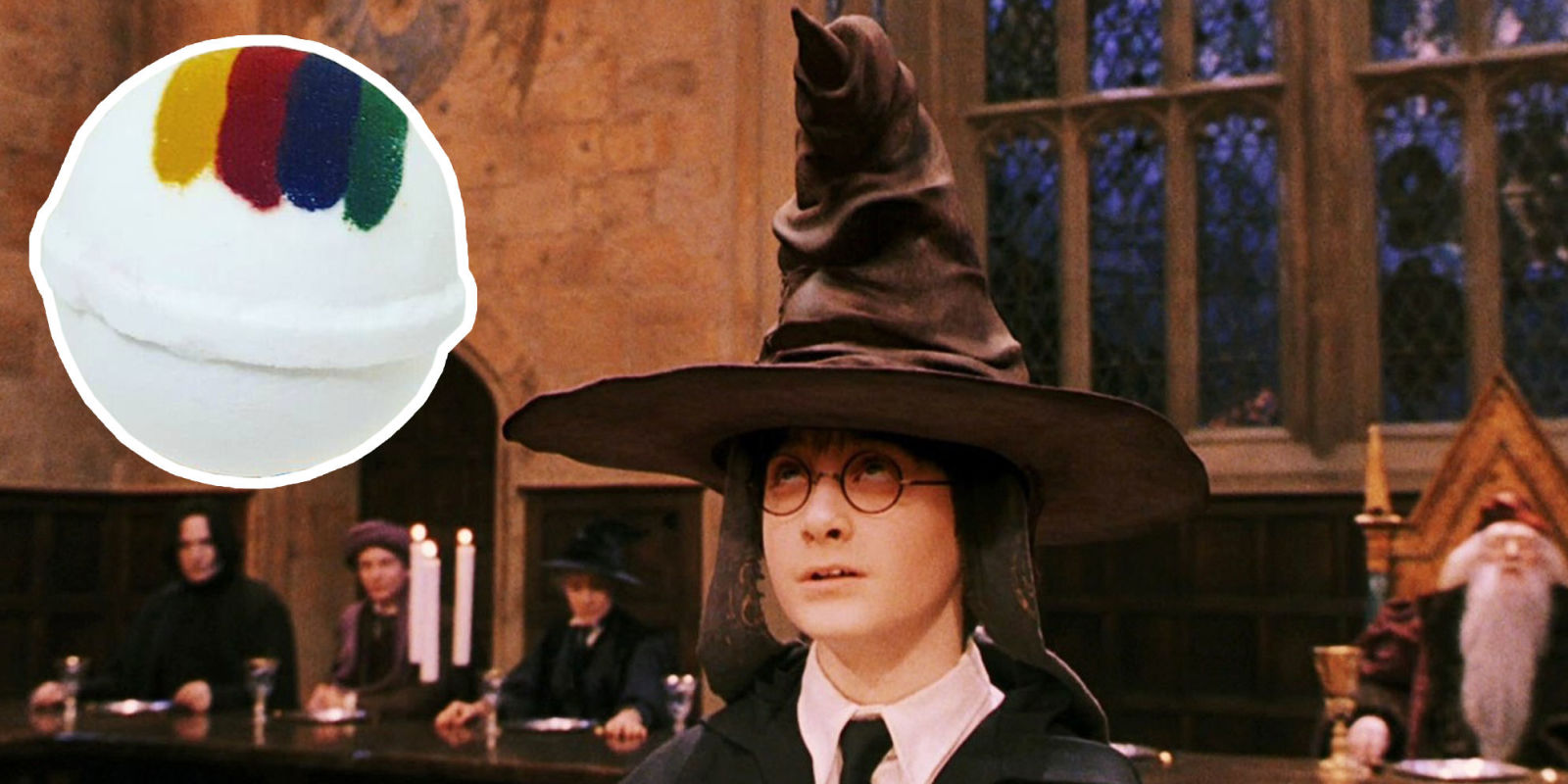 You can now wear the Sorting Hat from Harry Potter...kinda |Sorting Hat Scene