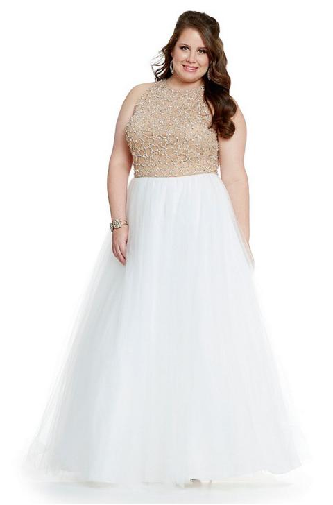 37 Hot White Prom Dresses for 2017 - All White Formal Dresses