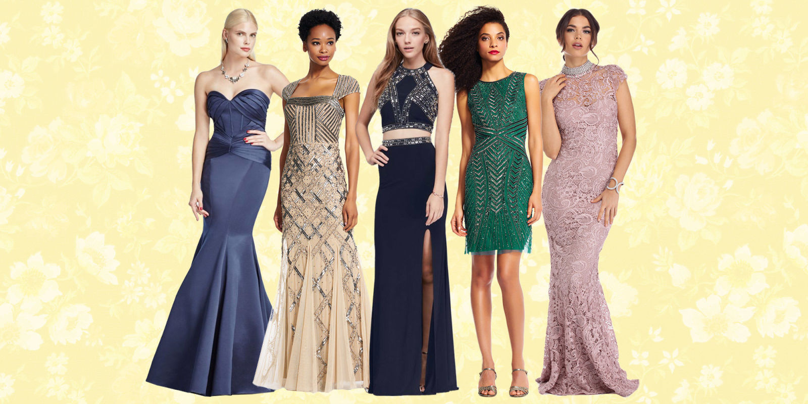 16 Stunning Vintage Prom Dresses of 2017 for a Retro Look