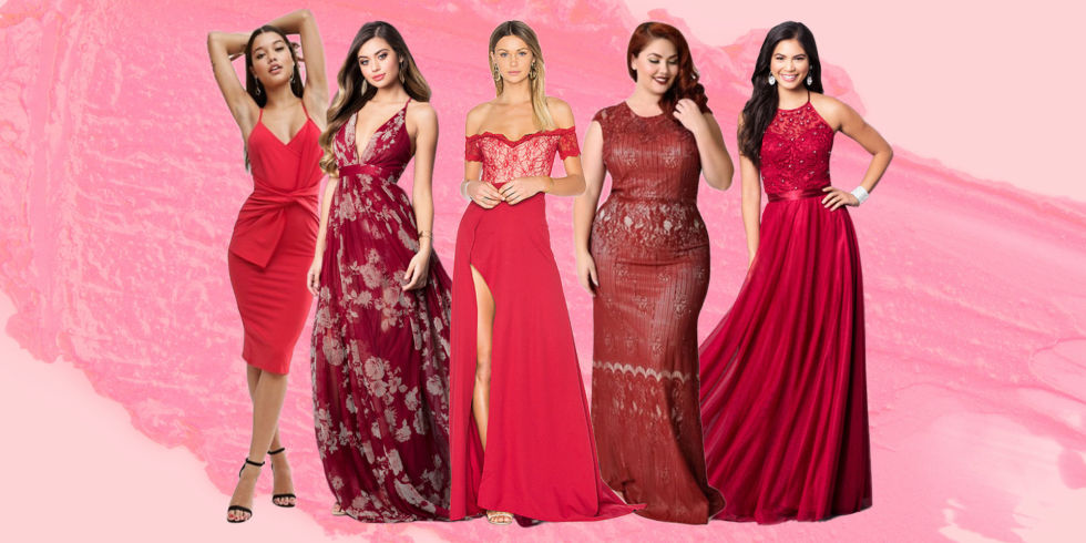 38 Best Red Prom Dresses for 2017 - Bold Red Formal Dresses for Prom