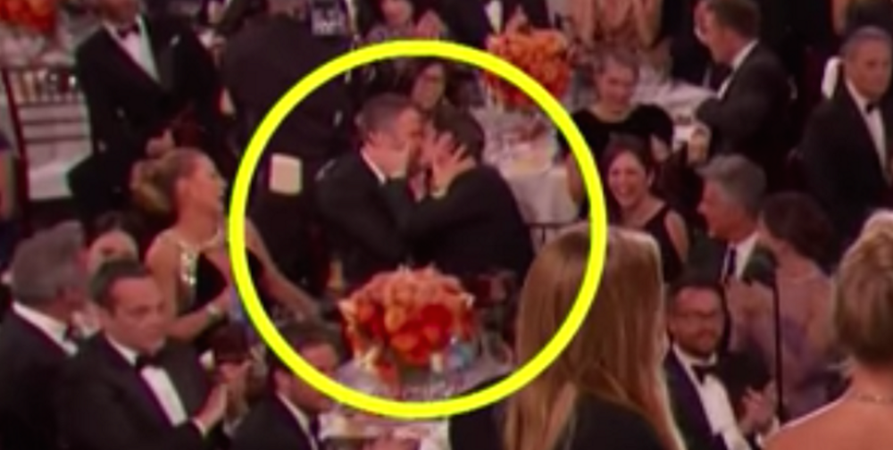 So this is why Andrew Garfield kissed Ryan Reynolds at the Golden Globes