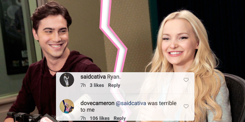 Who is dove cameron dating in real life