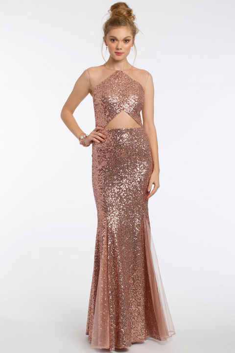 35 best gold silver and metallic prom dresses of 2017