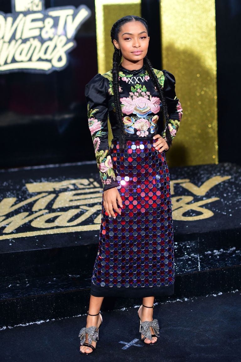 Wonderful Yara Shahidi Wore The Most Crazemazing Outfit To The Mtv Movie  With Interesting Getty With Amusing Garden Fairies Statues Also Korean Drama Secret Garden Cast In Addition York Museum Gardens And Ghazala Gardens Sharm As Well As Wooden Garden Swing Chair Additionally Aldi Garden Shredder From Seventeencom With   Interesting Yara Shahidi Wore The Most Crazemazing Outfit To The Mtv Movie  With Amusing Getty And Wonderful Garden Fairies Statues Also Korean Drama Secret Garden Cast In Addition York Museum Gardens From Seventeencom