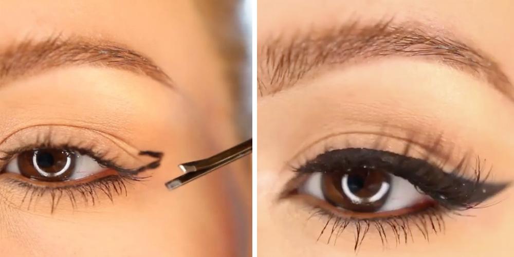 The New Cat Eye Makeup