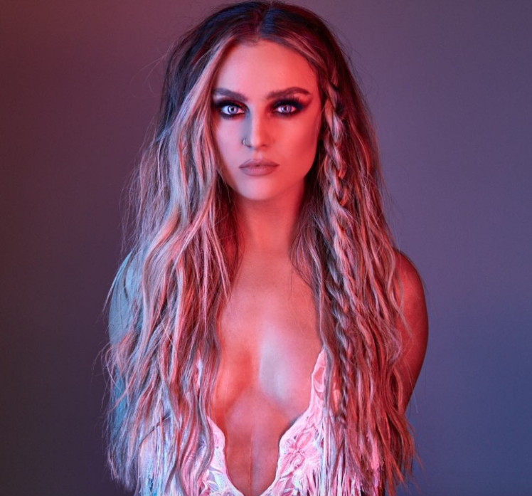 Fans Are Praising Perrie Edwards for Feeling Confident Enough to Wear a Bikini That Shows Her Stomach Scar