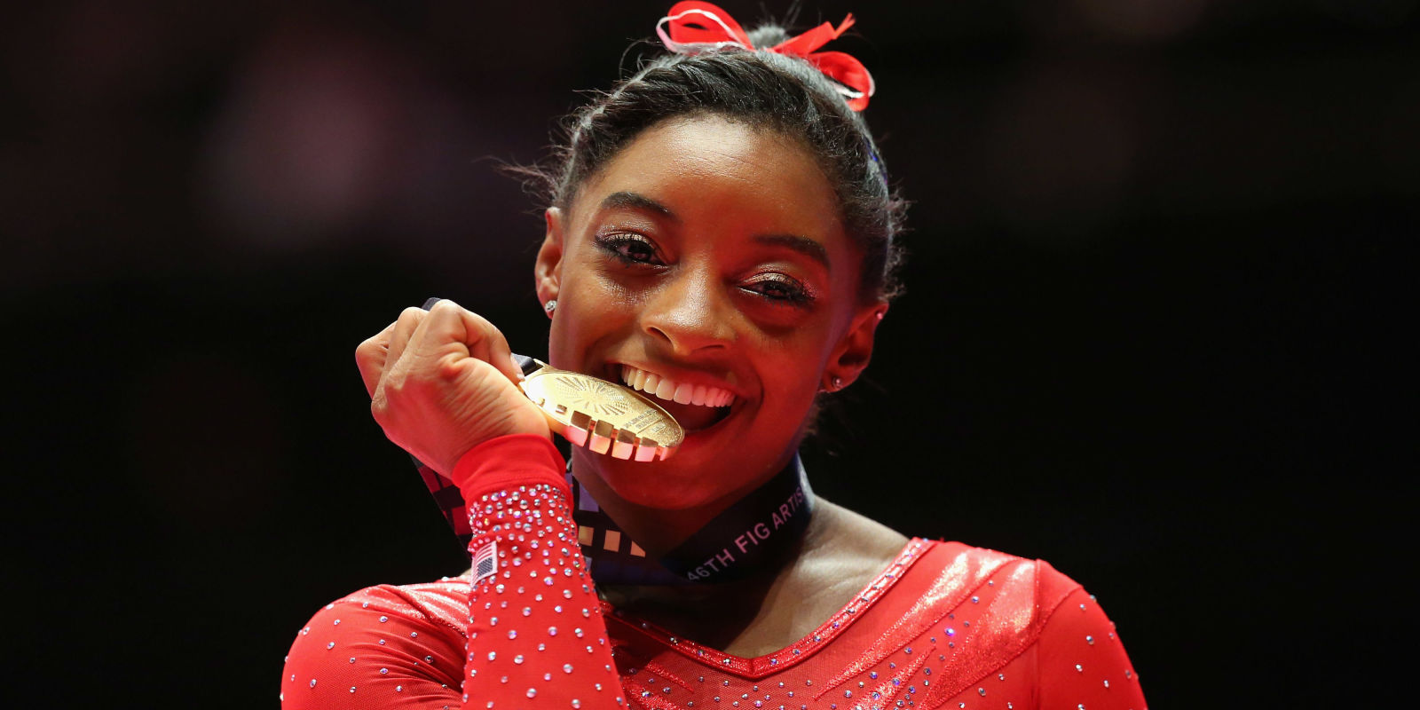 Response to a twitter troll who shamed her for not wearing makeup - Simone Biles Had The Best Response To A Troll Who Called Her Trash