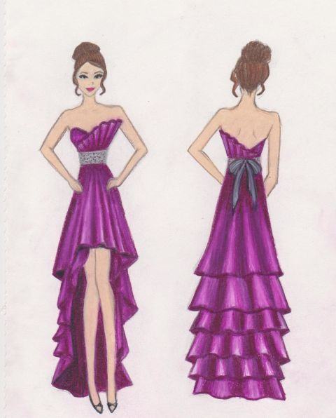 Sketch Your Prom Dress Contest with David's Bridal and